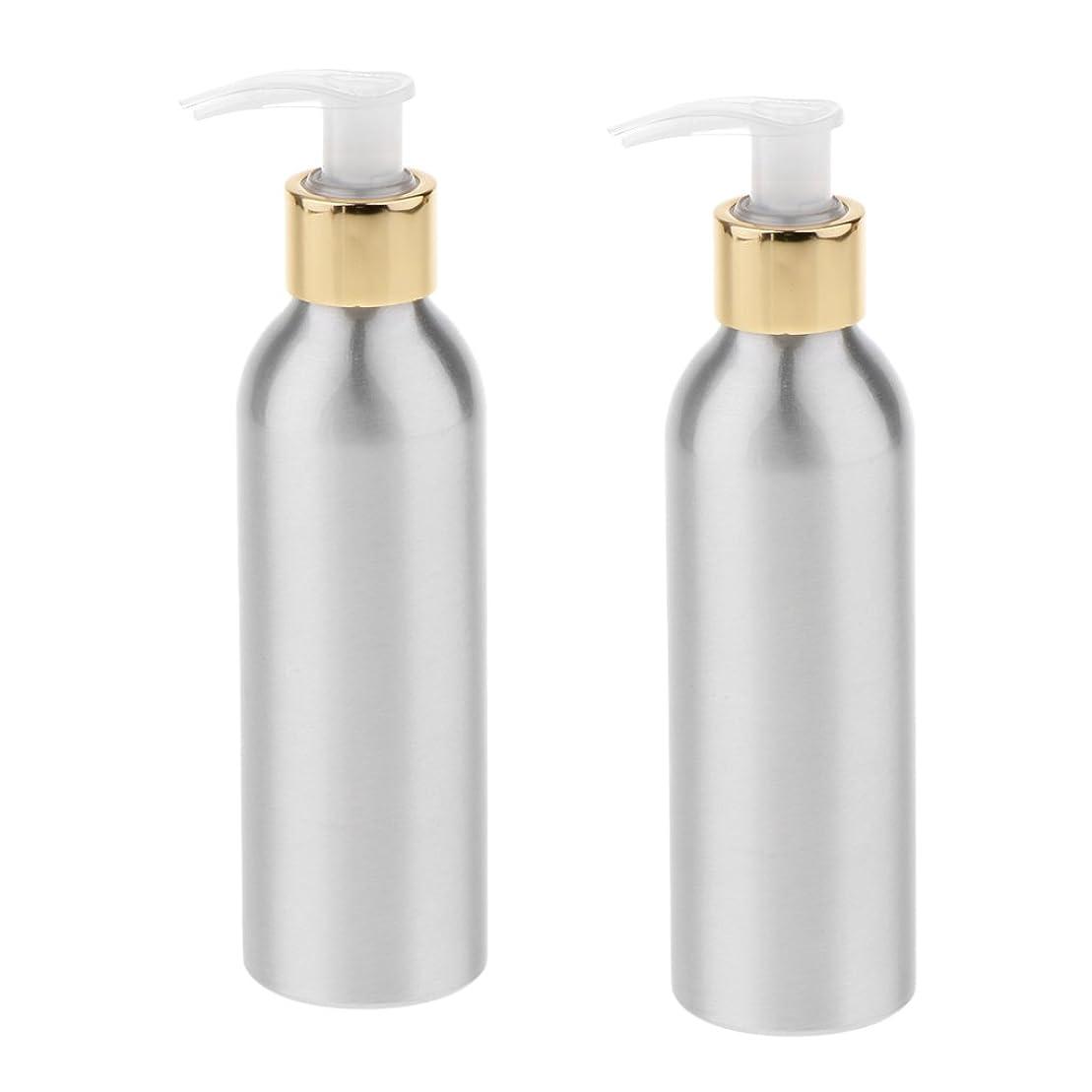 専門賄賂ゆるくKesoto 2本 スプレーボトル 空ボトル アルミボトル スプレー ポンプボトル 香水ボトル シャンプー 噴霧器 アトマイザー 6サイズ選択 - 150m