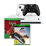 Xbox One S 1TB Konsolen-Bundle inkl. Halo Wars 2:Ultimate Edition + Forza Horizon 3 - Standard Edition + Xbox Wireless Controller (schwarz)