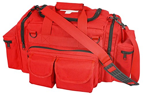 Rothco EMT/EMS/First Responder Medical Bag, Red