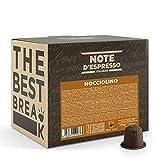 Note D'Espresso Preparato Solubile per Bevanda al Gusto di Cappuccino alla Nocciola in Capsule Compatibili con Sistema Nespresso, 700 g, 100 x 7 g