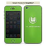 DeinDesign Wiko Darkmoon Folie Skin Sticker aus Vinyl-Folie Aufkleber VFL Wolfsburg Fanartikel Fußball