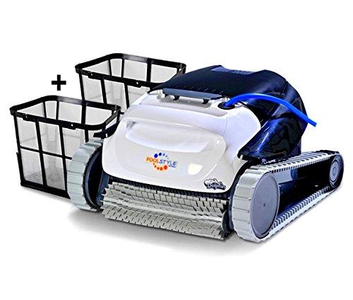 DOLPHIN Maytronics PoolStyle AG ULTRACLEAN Digital - Robot Elettrico Pulitore per Piscina Interrata & Fuoriterra Fino a 8 Mt - Fondo + 30 CM PARETI - Esclusiva Italia