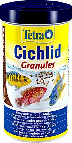 Tetra Cichlid Granules, Mangime in Granuli Specifico per Pesci Ciclidi, 500 ml