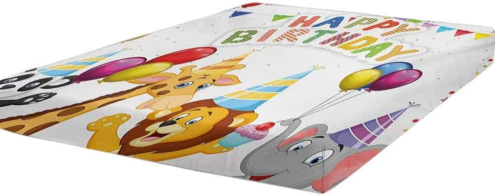 LCGGDB Kids Birthday Animer and price revision Bedding Fitted Cartoon Twin Size Styl Max 83% OFF Sheet