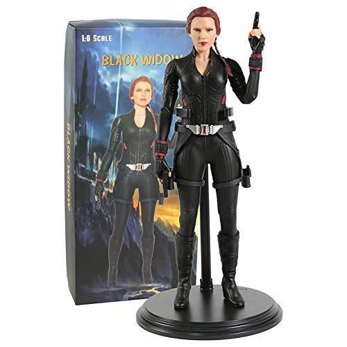 YiXing Crazy Toys Marvel Vengadores Black Widow escala 1/6 figura coleccionable modelo de juguete (color : caja)