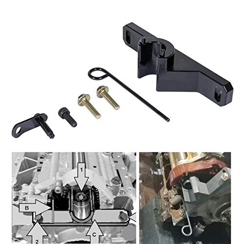 Yoursme 7676 Oil Seal Repair Kit Balance Shaft & Oil Pump Alignment Tool Kit for BMW N20 N26 1, 2, 3, 4 Series