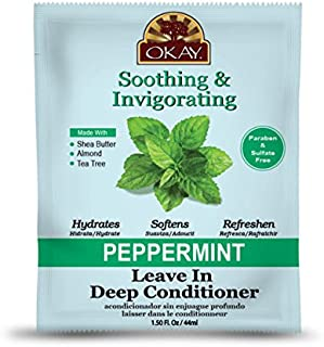 Okay Peppermint Soothing & Invigorating Leave In Conditioner 1.5 oz.