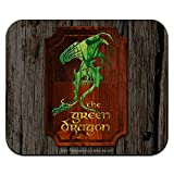The Lord of The Rings The Green Dragon Low Profile Thin Mouse Pad Mousepad