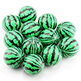 Etmact Soft Foam Watermelon Stress Balls for Kids 2.5' Perfect for Small Hands, 12-Pack Kids Toys Stress Ball Foam Toys Hand Toys Soft Toys Kids Foam Stress Toys Stress Ball Bulk Foam Balls Soft Foam