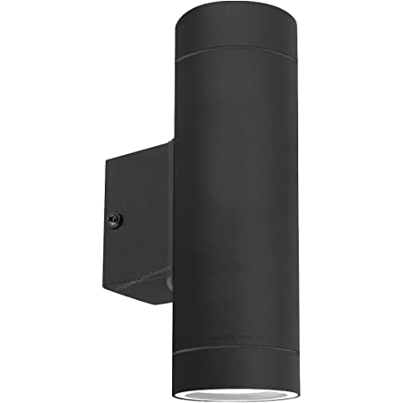 Black Stainless Steel Double Outdoor Wall Light IP65 Up/Down Outdoor Wall Light ZLC19B