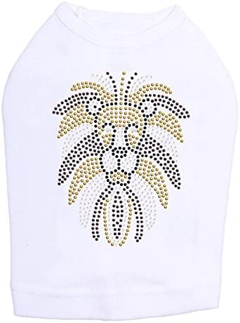 Lion Face - Dog 2XL White Special Campaign Max 71% OFF Shirt