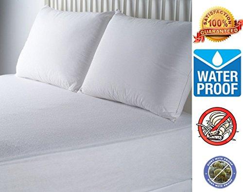 Rohi Hypoallergenic Waterproof Ultra Soft BedBug Mattress Cover Protector (Single 90x190cm)