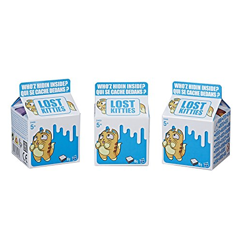 Lost Kitties- Pack de Gatitos (Hasbro E4665EU4)
