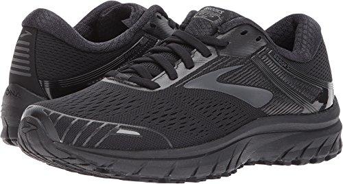 Brooks Women's Adrenaline GTS 18 Running Shoes, Black/Black, 5 B(M) US