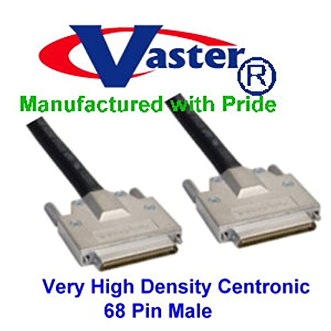 SuperEcable - SCSI Cable, VHDCI SCSI (SCSI-5) LVD/SE Cable - .8mm 68-pin VHDCI Male to Male (6 Ft) zl00306892650060