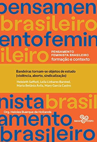 Bandeiras tornam-se objetos de estudo (violência, aborto, sindicalização) (Pensamento feminista brasileiro)