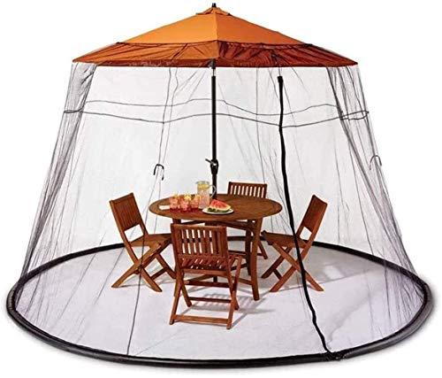YYCHJU Cubierta De Red Anti Mosquitos Ajustable Paraguas de Sun del Parasol Convertidor convertir su Cubierta Parasol en un Gazebo