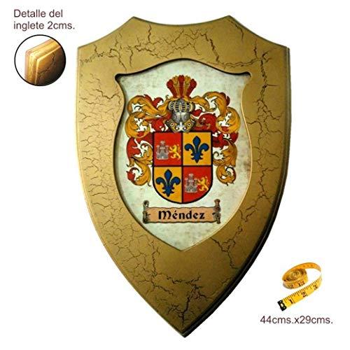 Metopa escudo heráldico de 1 apellido