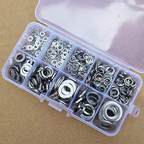 Lysee Washers - 260pcs Steel S Low price Tools washer Handware Houston Mall Accessories