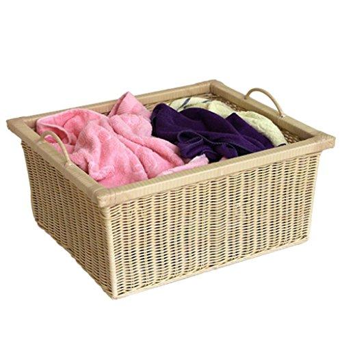 Serviettes corbeilles /à b/éb/é pour Jouets d/écor de Panier Panier /à Linge Diuspeed Panier de Rangement tiss/é en Coton couvertures Panier de Rangement pour la Maison