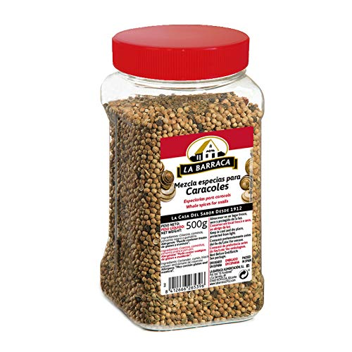 Mezcla Especias para Caracoles en Grano - 500 g