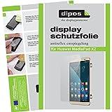 dipos I 2X Schutzfolie matt kompatibel mit Huawei MediaPad X2 Folie Bildschirmschutzfolie