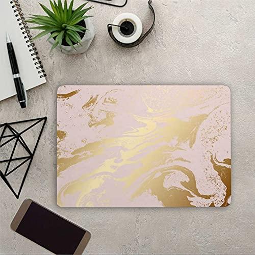 Nueva textura portátil piel rosa textura Notebook vinilo calcomanía universal piel niñas portátil tamaño personalizado calcomanías yu205