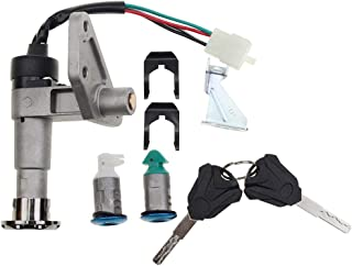 GOOFIT Ignition Switch Key Set for GY6 150cc Chinese Scooter Moped