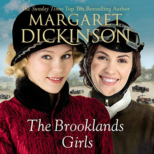 The Brooklands Girls audiobook cover art