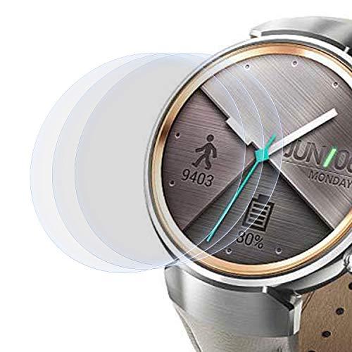 zanasta 3 Stück Schutzfolie kompatibel mit Asus Zenwatch 3 (1,39
