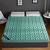 YQ WHJB <span class='highlight'>Thicken</span> Latex <span class='highlight'>Mattress</span>es, Foldable Memory <span class='highlight'>Foam</span> <span class='highlight'>Floor</span> <span class='highlight'>Mattress</span> Super Soft <span class='highlight'>Warm</span> Breathable Sleeping Pad For Single Double <span class='highlight'>Mattress</span> Topper-a 150x200cm(59x79inch)