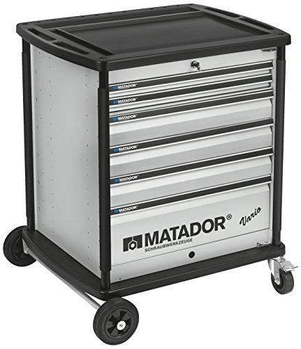 MATADOR 8164 0001 VARIO Werkstattwagen, leer, 6 - RAL 9006