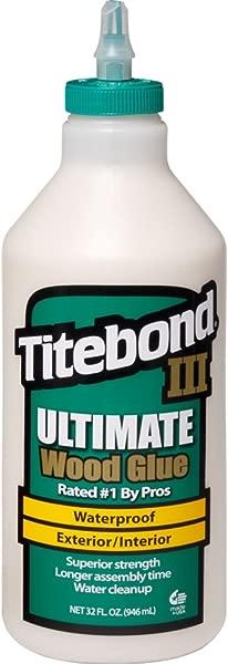 Titebond 1415 III Ultimate Wood Glue 32 Ounce Bottle