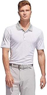 adidas Men's 2-Color Club Merch Stripe Polo