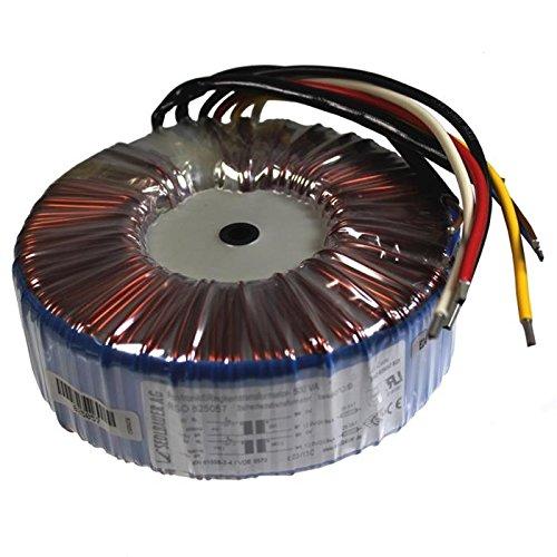 Transformador toroidal 500VA 2x115V 2x18V 36V Sedlbauer RSO-825059