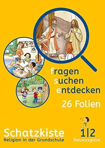 fragen - suchen - entdecken 1/2. Ausgabe Bayern: Schatzkiste (Folienmappe) Klasse 1/2 (fragen - suchen - entdecken. Ausgabe für Bayern ab 2015)