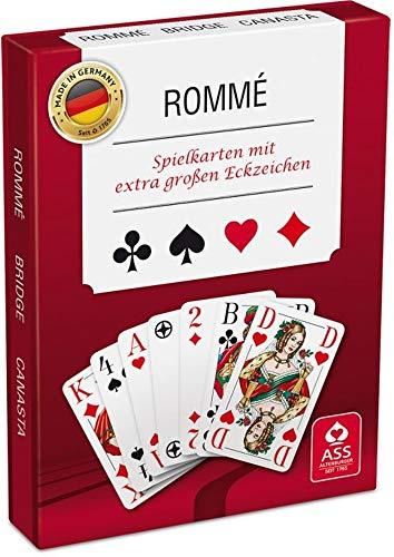 wow Ass Altenburger Rommé mit extra großen Eckzeichen