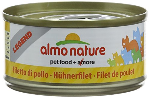 almo nature Megapack Katzenfutter nass Hühnerfilet 6x70g, 1er Pack (1 x 0.420 kilograms)