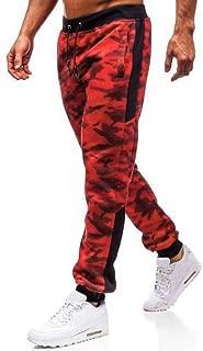 iYYVV Fashion Mens Sport Jogging Camouflage Pant Casual Sweatpants Drawstring Pant