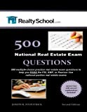 500 Real Estate Exam Questions: Real Estate Exam Prep Book for the PSI, AMP, and Pearson Vue General Portion Exams