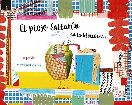 El Piojo Saltarín en la biblioteca (Primeros Lectores (1-5 Años) - Álbum Ilustrado)