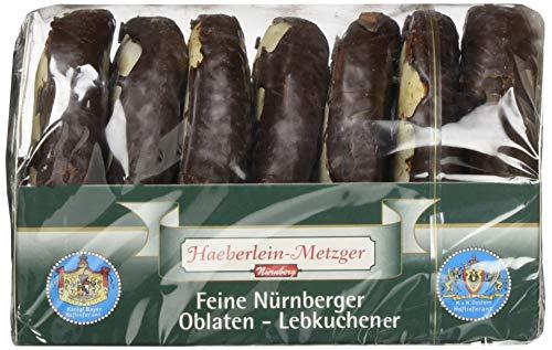 Haeberlein Metzger Oblatenlebkuchen Zartbitter, 7er Pack (7 x 200 g)