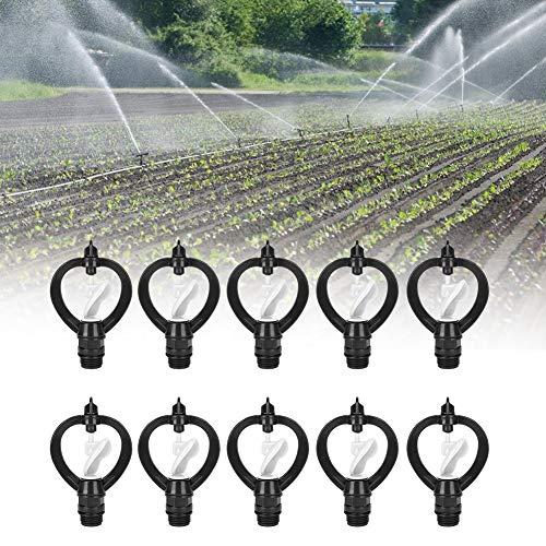 Atyhao Arroseur Pulvérisateu - 10pcs Buse d'Arrosage de Pulvérisation en Plastique G1/2po Forme de Pluie de Papillons Irrigation Agricole