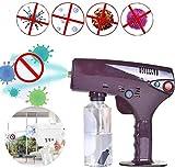 PANGHU Handheld Blue Light Nano Steam Gun Spray Machine Cuidado del Cabello SPA Humidificador Hair Face Steamer Water Mist Trigger Sprayer Uso para Usted o para un salón de Belleza, salón