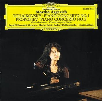 チャイコフスキ-:ピアノ協奏曲 第1番、プロコフィエフ:第3番