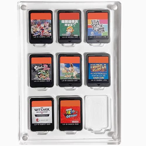 「Across Rainbow」Nintendo Switch ソフトケース  スイッチカードケース  ディスプレイケース  9枚収納 アクリル素材 日本国内会社取扱商品 AR109‐M 特許登録