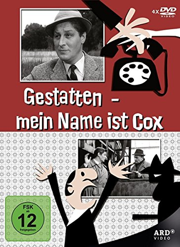 Gestatten, mein Name ist Cox (4 DVDs)