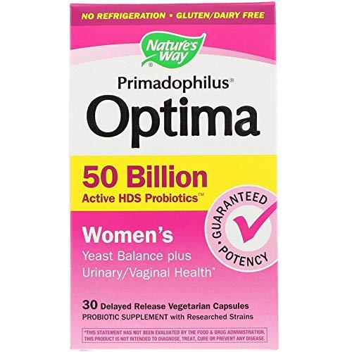Nature's Way, Primadophilus Optima, Für Frauen, 30 Vegetarische Kapseln mit Verzögerter Freisetzung