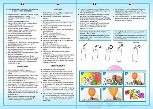 LGVSHOPPING-Kit-Bombola-Gas-A-Elio-Compreso-di-100-Palloncini-per-Feste-Compleanni-Party