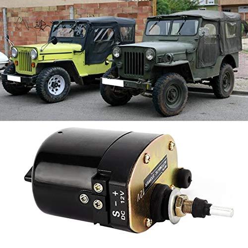 Bediffer Limpiaparabrisas de Coche Motor de limpiaparabrisas Universal para Tractores Willys. para Accesorios de Coche